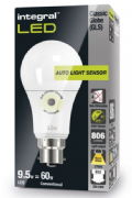 Dusk to dawn light bulbs |Sensor Lamp| LED 60-75W Equivalent | INTEGRAL LED